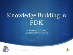 Knowledge Building FDK